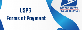 USPS Forms of Payment